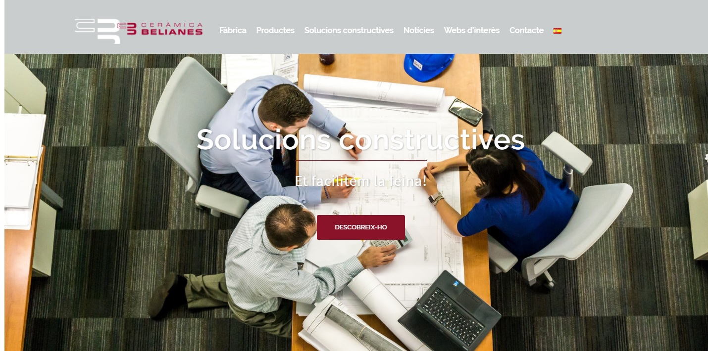 Web nova de Ceràmica Belianes - MSH Service