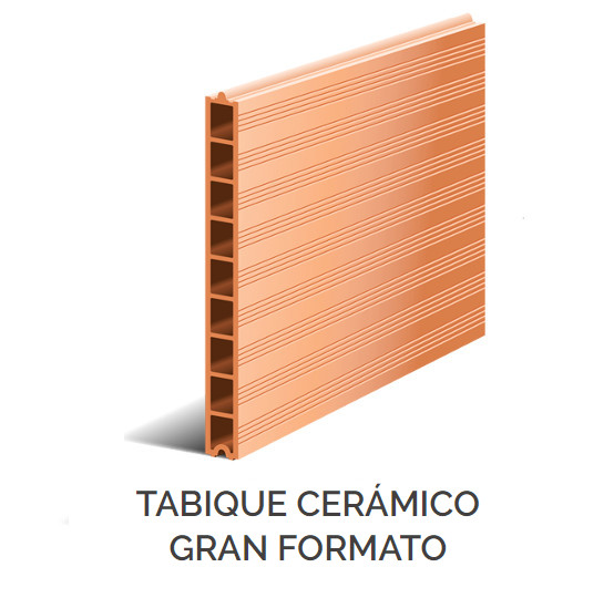 Productos - Tabique Cerámico Gran Formato