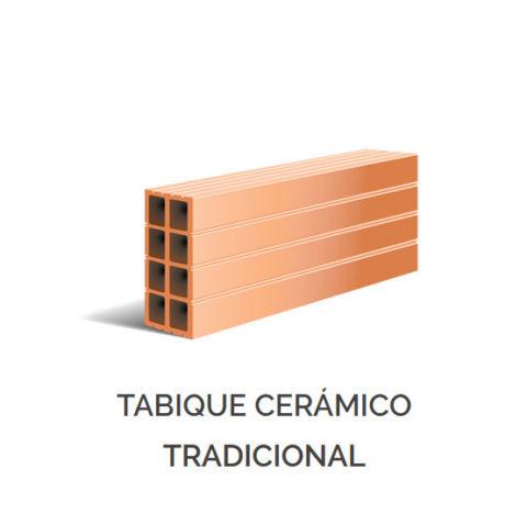 Productos - Tabique Cerámico Tradicional
