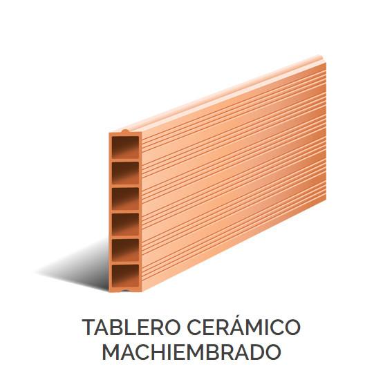 Productos - Tablero Cerámico Machiembrado
